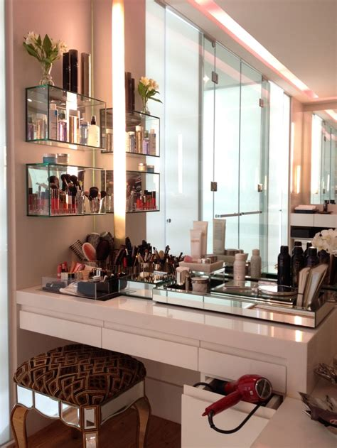 makeup storage desk 7 creative ways to store your cosmetics messiah