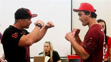 gang members pledge  bring peace  fight p