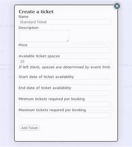 set up event bookings events manager for wordpress With event booking form template word