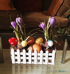 Panier Oeufs De Paques : bricolage de p ques un charmant enclos en carton ~ Melissatoandfro.com Idées de Décoration