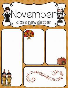 preschool newsletter template new style for 2016 2017 With free november newsletter templates