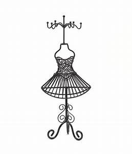 Porte Bijoux Mannequin : porte bijoux mixte poup e robe m tal ~ Teatrodelosmanantiales.com Idées de Décoration