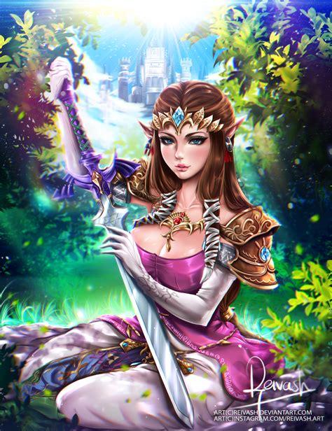Princess Zelda The Legend Of Zelda Twilight Princess