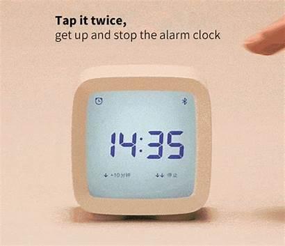 Alarm Bluetooth Humidity Temperature Monitor Clock Night