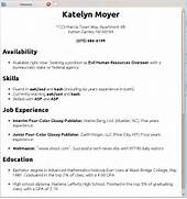 Linux Nonsense Cooking With Linux Printable Basic Resume Template With Outline Blank Form 16 Best Images About Media Communications Resume Samples An Expert Critiqued My Resume Business Insider