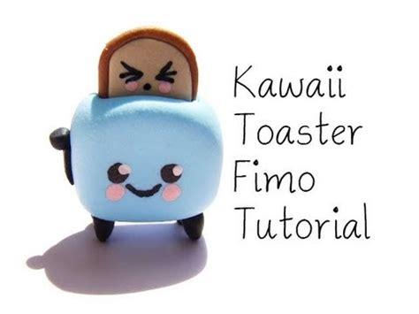 kawaii toaster fimo tutorialkawaii toaster polymer clay