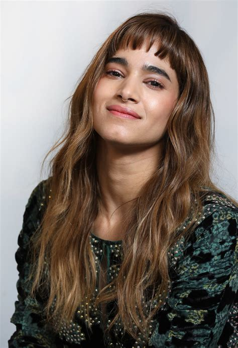 sofia boutella long wavy cut  bangs long hairstyles