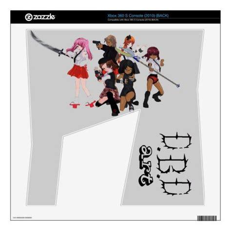 My Anime Girls Xbox 360 S Skins Zazzle