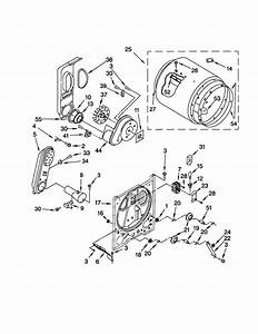 Kenmore Model 11072822100 Residential Dryer Genuine Parts