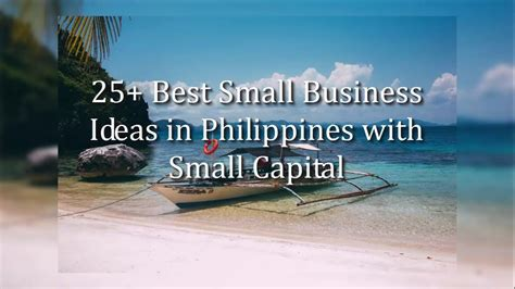 25+ Best Small Business Ideas In Philippines For 2018 Youtube