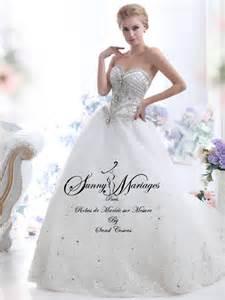 robe de mariage robe de mariée princesse bustier strass mariage