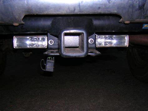 auxiliary reverse lights leds backup lights installed dodgeforum com