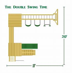 The Double Swingtime Playset