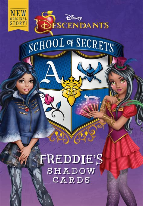 school  secrets freddies shadow cards descendants