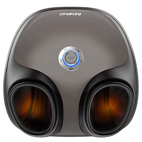 RENPHO Foot Massager with Shiatsu Tapping Heat and Air