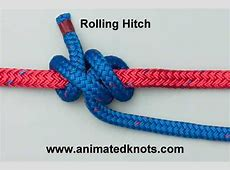 Rolling Hitch How to tie the Rolling Hitch and