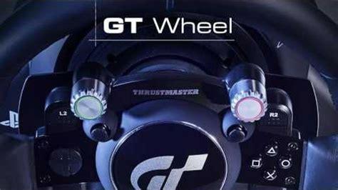 gran turismo sport lenkrad thrustmaster t gt lenkrad trailer gt sport e3 2017 golem de