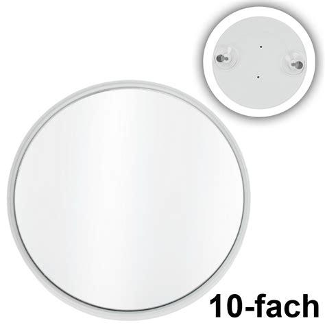 spiegel mit saugnapf kosmetikexpertin de kosmetex kleiner saugnapf spiegel mit 10 fach vergr 246 223 erung wei 223 rund 216 8