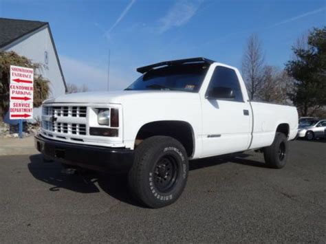 old car owners manuals 1998 gmc 2500 club coupe navigation system purchase used no reserve 1998 gmc sierra sl 2500 reg cab 2wd 6 5 diesel auto handymans special