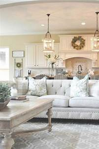 Farmhouse living room design ideas peenmediacom for Living room ideas decorating pictures