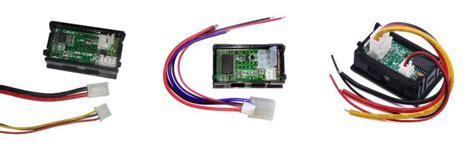 How Wire Digital Dual Display Volt Ammeter Diy