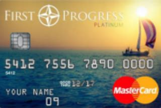 You are able to do this when you meet your monthly payments. First Progress Platinum Elite MasterCard® Secured Credit Card details, sign-up bonus, rewards ...
