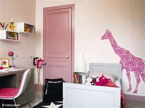 idee deco chambre fille peinture With idee peinture chambre fille