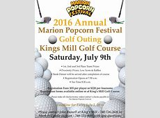 Golf Outing Marion Popcorn Festival
