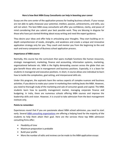 stanford mba essay sample template  format