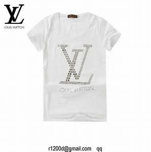 T Shirt Louis Vuitton Homme : t shirt marque de luxe t shirt louis vuitton femme noir ~ Melissatoandfro.com Idées de Décoration