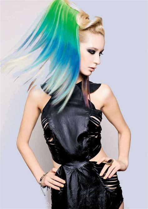 top  cool funky hairstyles  ladies  sheideas