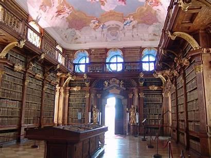 Melk Bibliothek Stift Libraries Germany Stiftsbibliothek Europe
