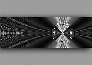 Designer Wanduhren Wohnzimmer : 6090 dixtime designer wanduhr wanduhren wohnraumuhr 35cm x 100cm ebay ~ Whattoseeinmadrid.com Haus und Dekorationen