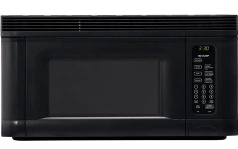 sharp 950 watt 1 2 5 cubic foot the range microwaves