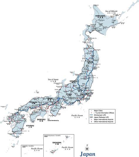 japan maps printable maps  japan
