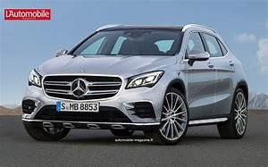 Nouveau Mercedes Gla : le futur gla doubl d 39 un glb l 39 automobile magazine ~ Voncanada.com Idées de Décoration