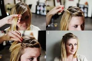 Coiffure Simple Femme : coiffure cheveux couts coiffure simple et facile part 3 ~ Melissatoandfro.com Idées de Décoration