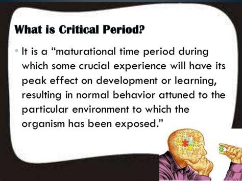 a n mirna critical period hypothesis 2