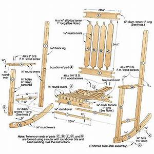 Free Woodworking Plans Rocking Chair Projects And Plans