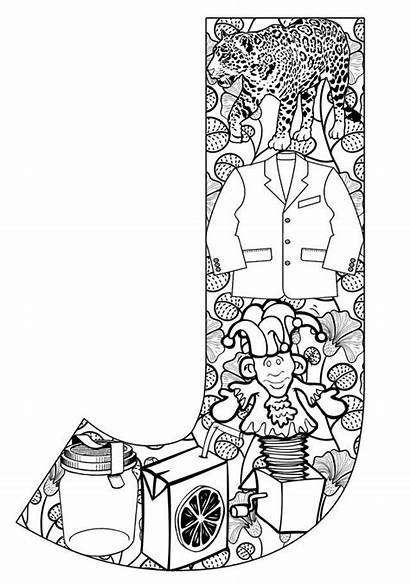 Coloring Pages Printable Things Start Alphabet Letters