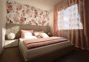 rideaux chambre adulte design d39interieur chic en 50 idees With chambre bébé design avec parfum fleuri