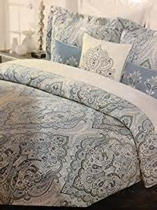 amazon com tahari home blue slate king duvet cover set
