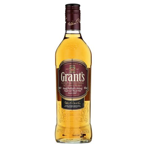 Grant's Blended Scotch Whisky 50cl   Groceries   Spirits