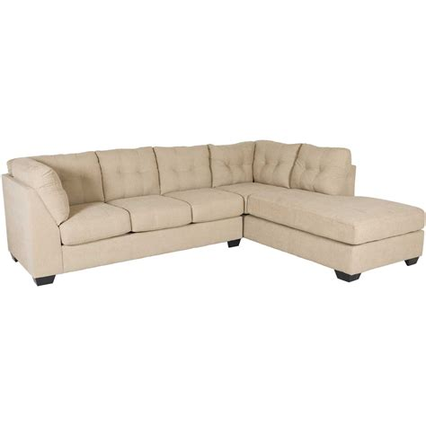 raf chaise sectional maier cocoa 2 sectional with raf chaise 4520317 66