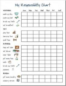 preschool chore chart with pictures k k club 2017