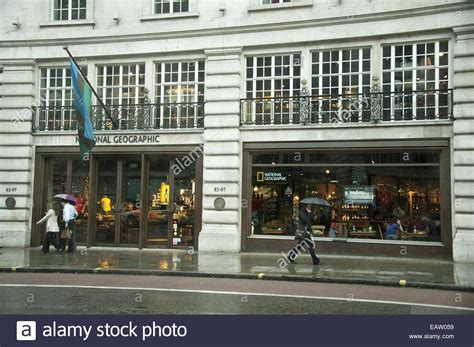 The National Geographic Store On Regent Street In London