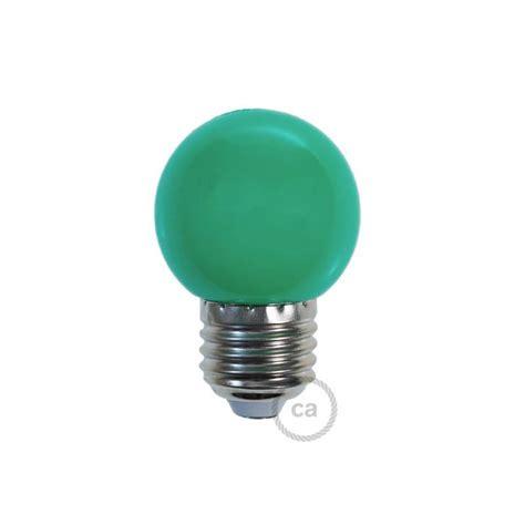 decorative  miniglobe led bulb    green