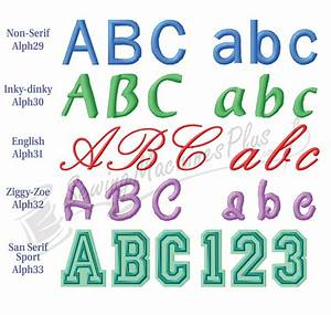 Dakota collectibles alphabet collection embroidery designs for Embroidery prices per letter