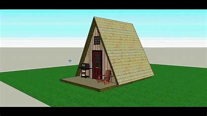 Frame Cabin 14x14 Sketchup Cabins Build Diy