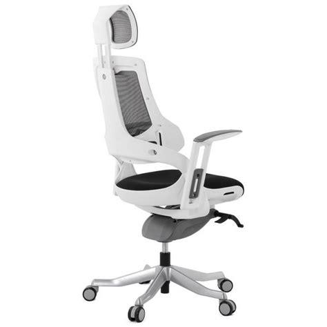 fauteuil de bureau tissu fauteuil de bureau design ergonomique bahamas en tissu noir
